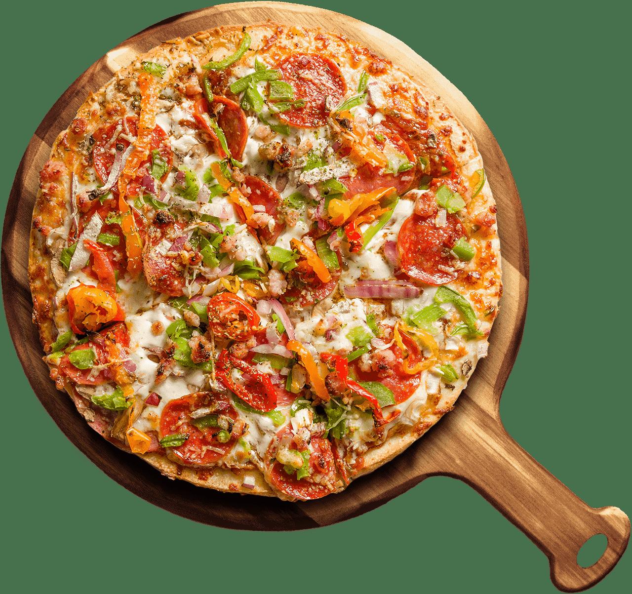 Nayya Pizza Pizze Speciali tray